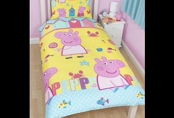Un coordinato per il letto by peppa pig paperblog - Amici di letto in inglese ...