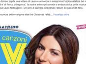 """Laura Pausini annuncia Sorrisi Canzoni uscita nuovo """"Greatest Hits"""" questo Natale 2013"""