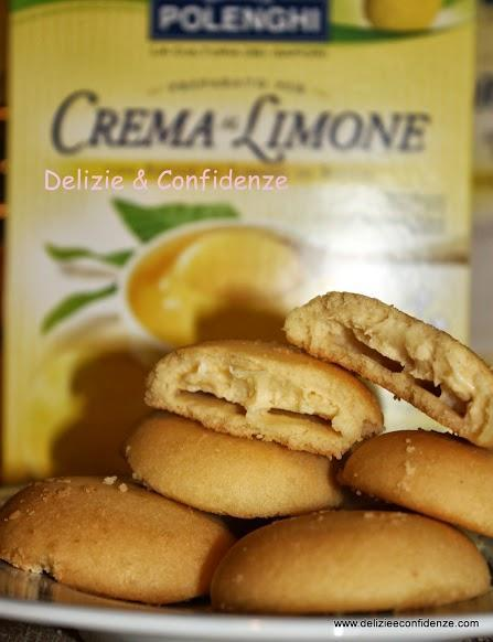 Frollini con crema al limone