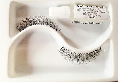 H&M; Medium False Eyelashes