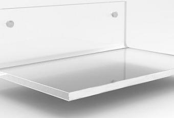 Mensole bagno plexiglass mensole trasparenti su misura paperblog - Mensole bagno plexiglass ...