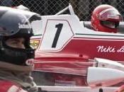 Rush: alta velocità, macchine sfrecciano rivalità Niki Lauda James Hunt nuovo trailer