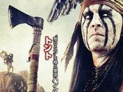 Cinque nuovi characters poster internazionali Lone Ranger Johnny Depp