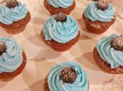 Mini cupcakes cioccolato crema burro lampone