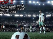 cinque pubblicità calcistiche belle della Nike