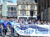 """We're Cardiff City, we'll always blue"" corteo protesta tifosi City contro rebrand(VIDEO)"
