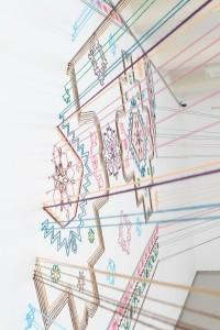 Faig Ahmed, Untitled, 2012, Thread Instillation