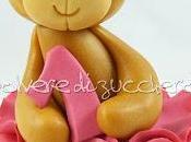 Tutorial cake design orso: orsetta principessa pasta zucchero