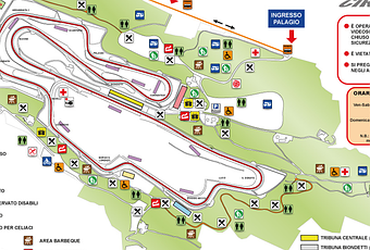 Tribuna Materassi.How To Reach And Where To Park At Mugello For Motogp 2013 Paperblog