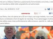Giornale Berlusconi offende Franca Rame