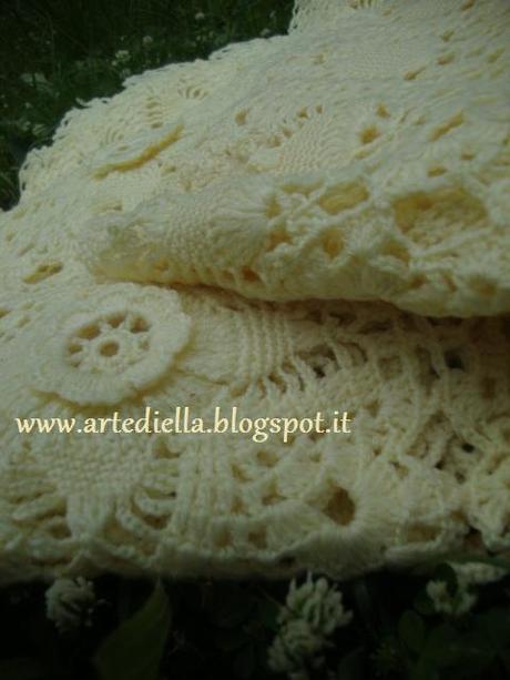 Matrimonio Tema Animali : Copertina in lana all uncinetto per carrozzina paper