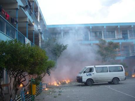 Bombardamenti al fosforo a Gaza, 2009