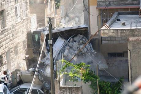 Demolizioni di case palestinesi a Nablus, Cisgiordania