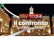 Domani Campidoglio SkyTg24 sfida finale Alemanno Marino