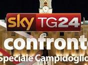Comunali Roma, stasera SkyTG24 confronto Alemanno Marino
