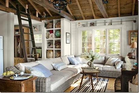 Piccoli spazi cottage sul lago 46 mq paperblog for Cottage inglese perfetto