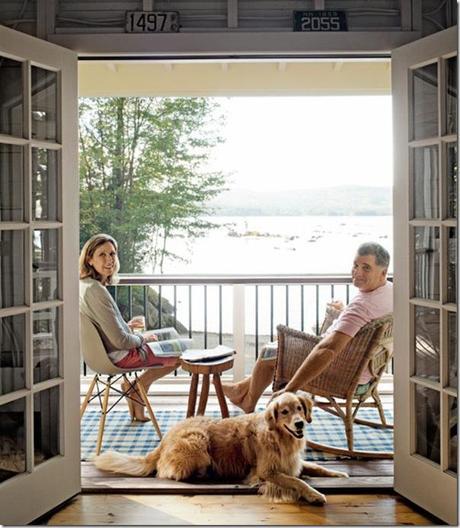 Piccoli spazi cottage sul lago 46 mq paperblog for Idee di progettazione cottage lago