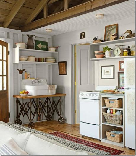 Piccoli spazi cottage sul lago 46 mq paperblog for Idee di veranda posteriore per case in stile ranch