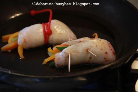 Alternative Involtini Di Pesce Cajun Con Verdurine E
