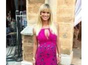 Michelle Hunziker, sexy pancione Roberto Cavalli. foto