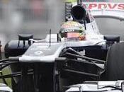 Pastor Maldonado concentrato sulla Williams