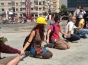 Turchia, Erdogan, piazza Taksim, sono manifestanti