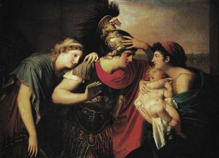 Incontro di Ettore e Andromaca, Landi Gaspare (1794-1795)