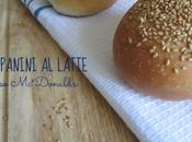 Impastando po': panini latte tipo donald's