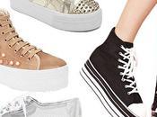 Back time: Flatform sneakers