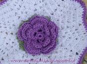 spiegazione fiore all'uncinetto petali presina asciughino