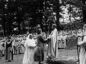 Regina Elisabetta Foto della iniziazione presso Druidi