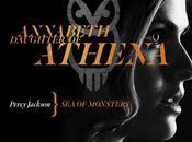 Alexandra Daddario figlia Atena nuovo character poster Percy Jackson: Mare Mostri