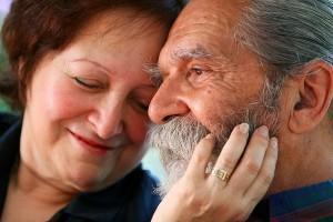 come sempre, anziani, giovani, dialogo, coppia