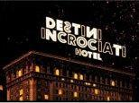 Destini Incrociati Hotel, Arte cartoon protagonisti della storia
