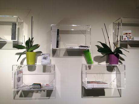 Lavorazione plexiglass roma cubi e librerie in plexiglass for Librerie economiche on line