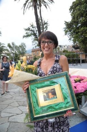 Emanuela, vincitrice del premio letterario
