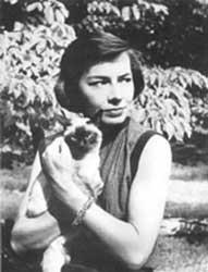 A young Patricia Highsmith