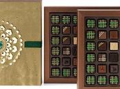 Armani Dolci omaggio all'antica tradizione Ramadan nuova raffinata pralina cioccolato.