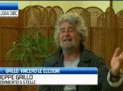Beppe Grillo CNBC: vinceremo prossime elezioni berlusconi dovrebbe andare galera.