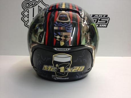Shoei X-Spirit II J.McGuinness IOMTT 2013 by Rage Designs