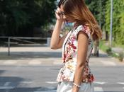 Outfit: flowers, silver