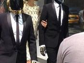 Karlie Kloss filming with Daft Punk Chloé