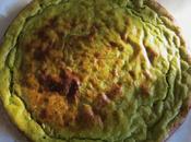 Sformato verdure stagione salsa formaggio
