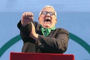 L'europarlamentare leghista Mario Borghezio