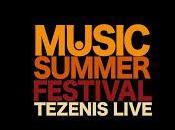 """""""Music Summer Festival Tezenis Live"""" stasera Piazza Popolo Roma luglio Canale 102.5"""