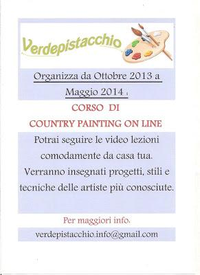Corso on-line di Country Painting