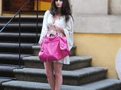 Outfit: pink maxi