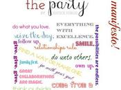 Life party: personal brand manifesto