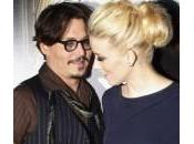 Mosca, Johnny Depp carpet Amber Heard