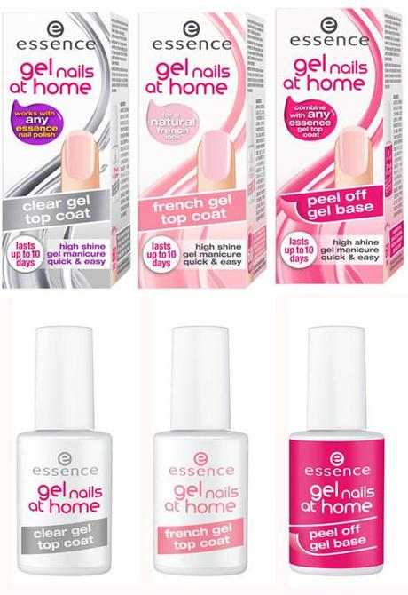 {Preview} Essence Fall 2013 #Gel #Nails At Home Collection